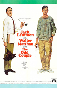 The Odd Couple - Theatrical Poster - Courtesy of Paramount Pictures