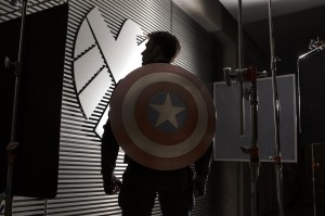Captain America: The Winter Soldier - Captain America's Back - Courtesy of Marvel Studios and Walt Disney Pictures