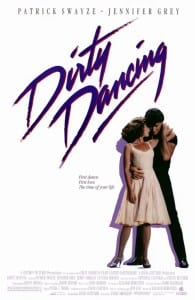 Dirty Dancing - Theatrical Poster - Courtesy of Vestron