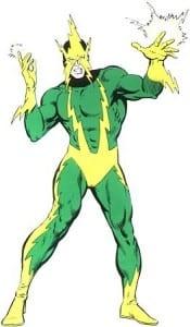 Electro - From Original Marvel Universe - Courtesy of Marvel Comics