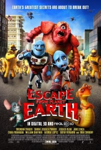 Escape From Planet Earth - Theatrical Poster - Courtesy of The Weinstein Company