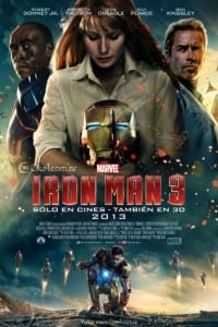 Iron Man 3 - International Theatrical Poster - Courtesy of Marvel Studios and Walt Disney Pictures