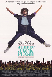 Jumpin' Jack Flash - Theatrical Poster - Courtesy of 20th Century Fox
