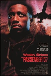 Passenger 57 - Theatrical Poster - Courtesy of Warner Bros. Home Entertainment
