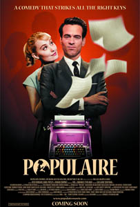Populaire - Theatrical Poster - Courtesy of The Weinstein Company