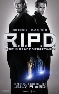 R.I.P.D. - Advance Theatrical Poster - Courtesy of Universal Pictures