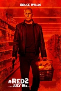 Red 2 - Bruce Willis Advance Theatrical Poster - Courtesy of Summit Entertainment