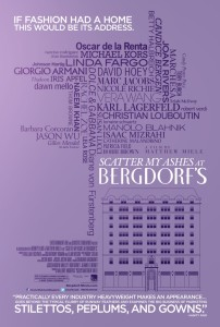 Scatter My Ashes At Bergdorf's - Theatrical Poster - Courtesy of Entertainment One