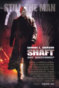 Shaft (2000) - Theatrical Poster - Courtesy of Paramount Pictures