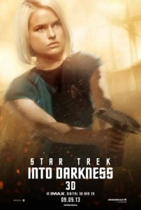 Star Trek Into Darkness - Carol Marcus Advance Poster Style B - Courtesy of Paramount Pictures