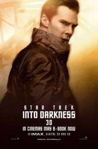 Star Trek Into Darkness - John Harrison Advance Poster Style B - Courtesy of Paramount Pictures