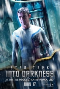 Star Trek Into Darkness - McCoy Advance Poster - Courtesy of Paramount Pictures