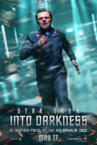 Star Trek Into Darkness - Scotty Advance Poster - Courtesy of Paramount Pictures and MovieFone