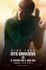 Star Trek Into Darkness - Spock Advance Poster Style B - Courtesy of Paramount Pictures