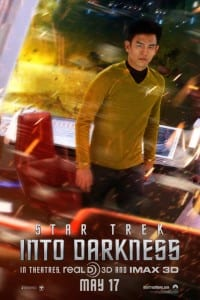 Star Trek Into Darkness - Sule Advance Theatrical Poster - Courtesy of Paramount Pictures
