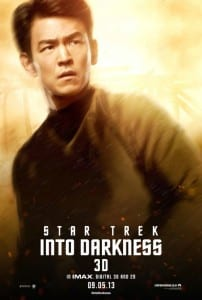 Star Trek Into Darkness - Sulu Advance Poster Style B - Courtesy of Paramount Pictures