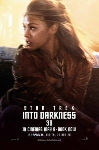 Star Trek Into Darkness - Uhura Advance Poster Style B - Courtesy of Paramount Pictures