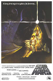 Star Wars - Theatrical Poster Style A - Courtesy of 20th Century Fox