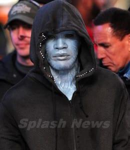 The Amazing Spider-Man 2 - Jamie Foxx as Electro Photo #3 - Courtesy of Splash News