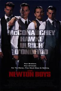 The Newton Boys - Theatrical Poster - Courtesy of 20th Century Fox