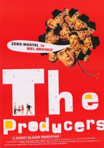 The Producers - Theatrical Poster - Courtesy of