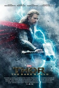 Thor: The Dark World - Advance Theatrical Poster - Courtesy of Marvel Studios