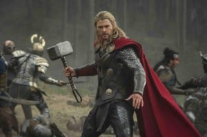 Thor: The Dark World - Thor in battle - Courtesy of Marvel Studios and USA Today