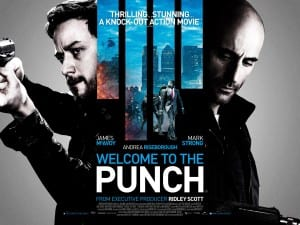 Welcome To The Punch - Theatrical Poster - Courtesy of