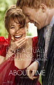 About Time - Advance Theatrical Poster - Courtesy of Universal Pictures
