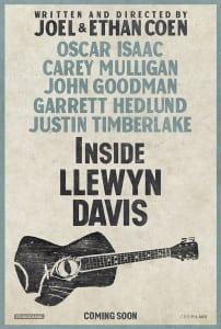 Inside Llewyn Davis - Cannes Film Festival Poster - Courtesy of StudioCanal and CBS Films