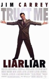 Liar Liar - Theatrical Poster - Courtesy of Universal Pictures
