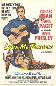Love Me Tender - Theatrical Poster - Courtesy of 20th Century Fox