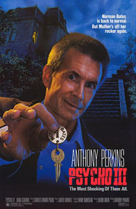 Psycho III - Theatrical Poster - Courtesy of Scream Factory