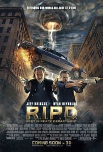 R.I.P.D. - Theatrical Poster Style B - Courtesy of Universal Pictures and EmpireOnline