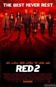RED 2 - Theatrical Poster Style B - Courtesy of Summit Entertainment and Moviefone