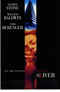 Sliver - Theatrical Poster - Courtesy of Paramount Pictures