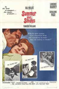 Summer and Smoke - Theatrical Poster - Courtesy of Olive Films