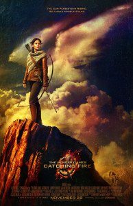 The Hunger Games: Catching Fire - Theatrical Poster - Courtesy of Lionsgate