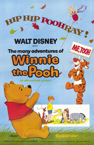 The Many Adventures of Winnie the Pooh - Theatrical Poster - Courtesy of Walt Disney Pictures