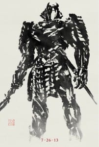 The Wolverine - Silver Samurai Advance Theatrical Poster - Courtesy of 20th Century Fox