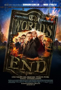 The World's End - Theatrical Poster - Courtesy of Focus Features