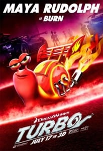 Turbo - Maya Rudolph Advance Theatrical Poster - Courtesy of Dreamworks