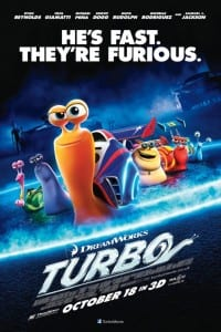 Turbo - Theatrical Poster - Courtesy of Dreamworks