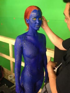 X-Men: Days of Future Past - Jennifer Lawrence On Set - Courtesy of 20th Century Fox