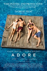 Adore - Theatrical Poster - Courtesy of Exclusive Releasing