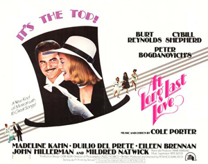 At Long Last Love - British Quad Theatrical Poster - Courtesy of 20th Century Fox