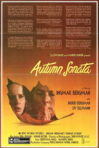 Autumn Sonata - Theatrical Poster - Courtesy of The Criterion Collection
