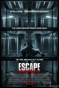 Escape Plan - Theatrical Poster - Courtesy of Summit Entertainment
