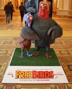 Free Birds - Promotional Art - Courtesy of Relativity Media