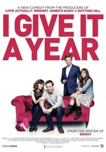I Give It A Year - Theatrical Poster - Courtesy of Magnolia Pictures